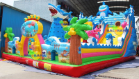 Giant Ocean Inflatable Playground 12x8x8m