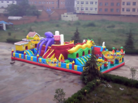 Giant Octopus Inflatable Playground 15x8x6.5m
