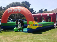 Horse Racing Inflatable Interactive Game 10x4x3m