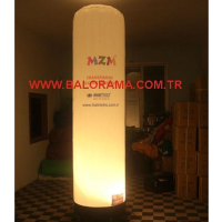 Illuminated Advertising Balloon Tube 3m