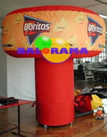 Illuminated Inflatable Dashboard Doritos 2.5m