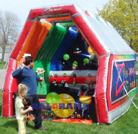Inflatable Aired Balls 4.5x3.5x3m