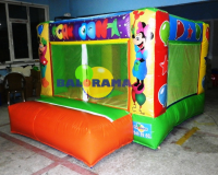 Inflatable Ball Pool Cute Characters 3x3.5x2m