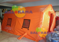 Inflatable Balloon Tent 6x5x2.5h 30m²