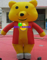 Inflatable Costume Cute Bear 3m
