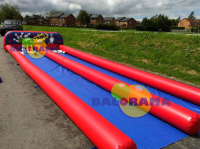 Inflatable Double Bowling 8x3.5x2m