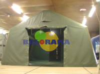 Inflatable First Aid Tent 4x5x2.5h 20m²