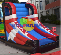 Inflatable Game Double Basket 2.4x1.5x2.4m
