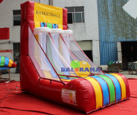 Inflatable Game Eco Basket 3.5x2x3m