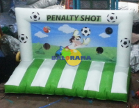 Inflatable Game Penalty Fortress 4x2x2.5m