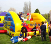 Inflatable Game Pillow War 4x4x2.5m