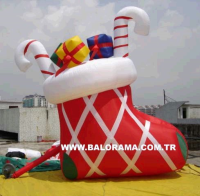 Inflatable Gift Stocking 4m
