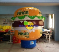 Inflatable Hamburger Mockup