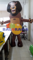Inflatable Lion Costume 3m