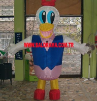 Inflatable Mascot Duck 3m