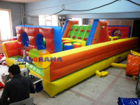 Inflatable Obstacle Course 8x4x2.5m