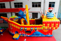 Inflatable Park Ship Combo 8x3.5x3.8m