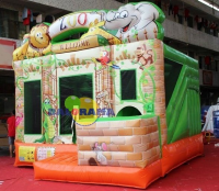 Inflatable Park Zoo 4x4x4m