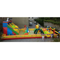 Inflatable Playground Giant Amusement Park 20x10x7m
