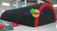 Inflatable Tunnel Tent Indoor 14x6x3.5m