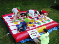 Inflatable Twister 4x4m