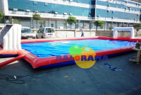 Inflatable Water Football Field 13x7x2.5m