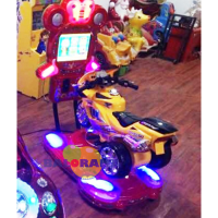 Kiddie Rides With Screen Motor