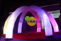 Led Lighted Inflatable Tent 8m