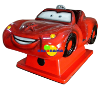 Lightning McQuenn's Giant Coin-Operated Car