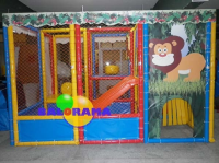 Mini Jungle Playground 3.6x2.4x2.5m