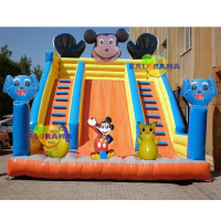 Mouse Inflatable Slide 8x6x8m