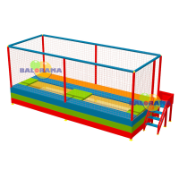 Olympic Trampoline with Dual Side Entry