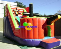 Ship Inflatable Water Slide 7x3.5x4m