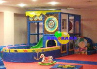 Softplay Playground Ship Ball Pool