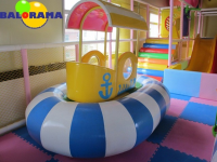 Softplay Swinging Boat Inflatable Electronic