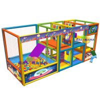 Space Path Softplay Playground 5x2x2.5m