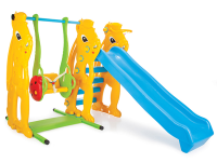 Squirrel Swing and Slide Set