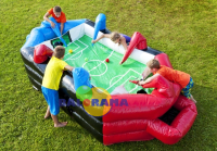 Table Football Inflatable Game 4x2x1m