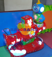 Coin-Operated Robot Seesaw
