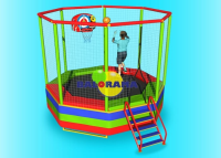 Trampoline 360cm Eight Corner Netting Domestic Production