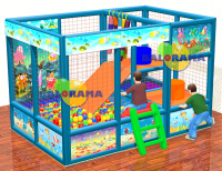 Water World Ball Pool 2x3x2m