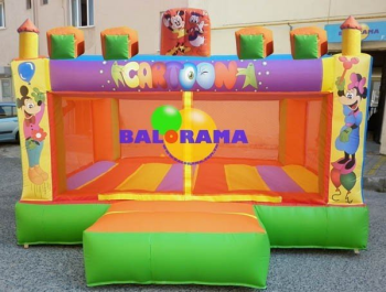 Entertainment Center Inflatable Park 4x5x2.5m