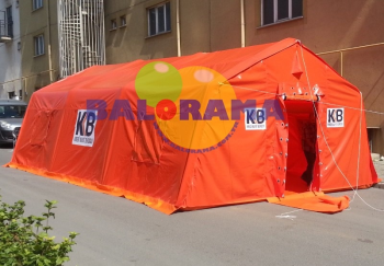Inflatable Hospital Tent 8x5x2.5h 40m²