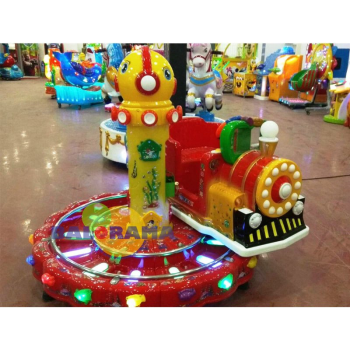 Rotary Train Kiddie Rides Coin Operated Toy