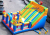 Clown Inflatable playground 8x5x4.5m