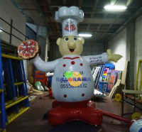 Advertising Balloon Pizza Chef 4m