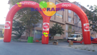 Double Arch Balloon 12m