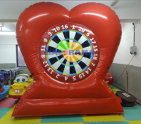 Inflatable Advertising Balloon Heart Darts 3mt