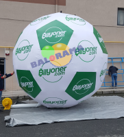 Inflatable Advertising Balloon Soccer Ball 4m