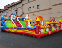 Inflatable Carnival Park 8x15x6 mt